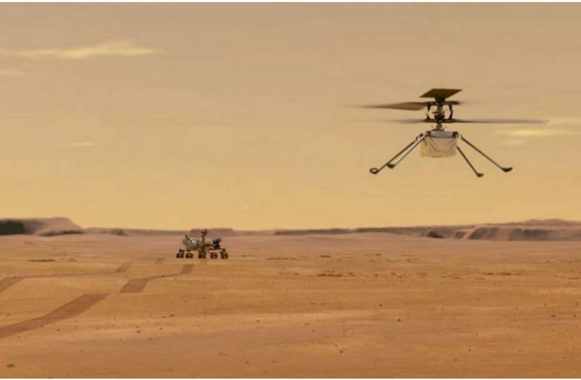 अमरीका ने NASA के मंगल 2020 हेलीकॉप्टर मिशन में योगदान के लिए पाकिस्तानी इंजीनियर को दी मान्यता