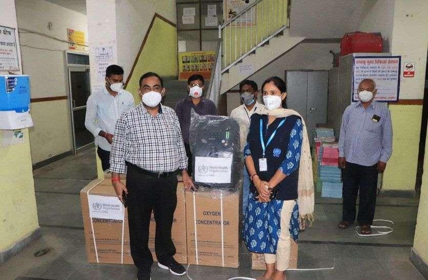 अब टैंशन नहीं : चिकित्सा मंत्री ने अजमेर जिले के लिए भिजवाए 100 ऑक्सीजन कंसन्ट्रेटर