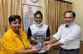 महिला क्रिकेटर का एक ही दिन में बना पासपोर्ट