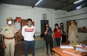 सैलून व स्पा की आड़ में देह व्यापार, संचालिका व दो युवतियां गिरफ्तार