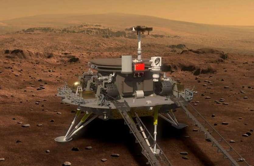 चीन के Tianwen-1 मिशन के Zhurong रोवर ने मंगल से भेजीं पहली तस्वीरें, देखिए वहां का नजारा