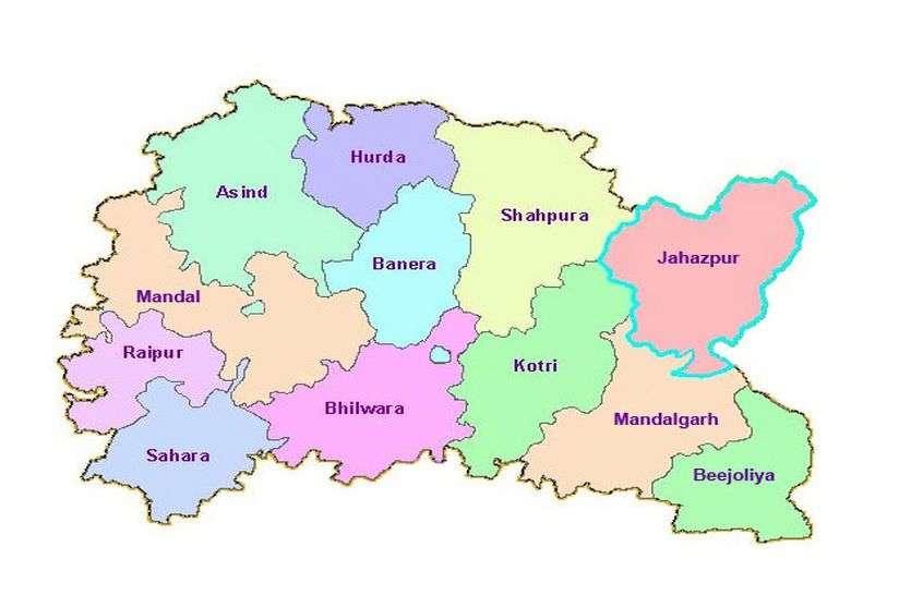 भीलवाड़ा 7 विधानसभा क्षेत्र में एंटीजन रेपिट टेस्ट
