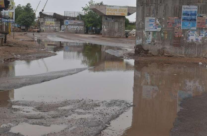 नागौर में आने से पहले ही ठंडा पड़ा तौकते, परबतसर में 4 इंच से अधिक बारिश