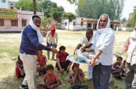 मऊ में फर्जीवाड़ा, पिछले साल के कम्युनिटी किचन की फोटो डाल कर लूटी वाहवाही