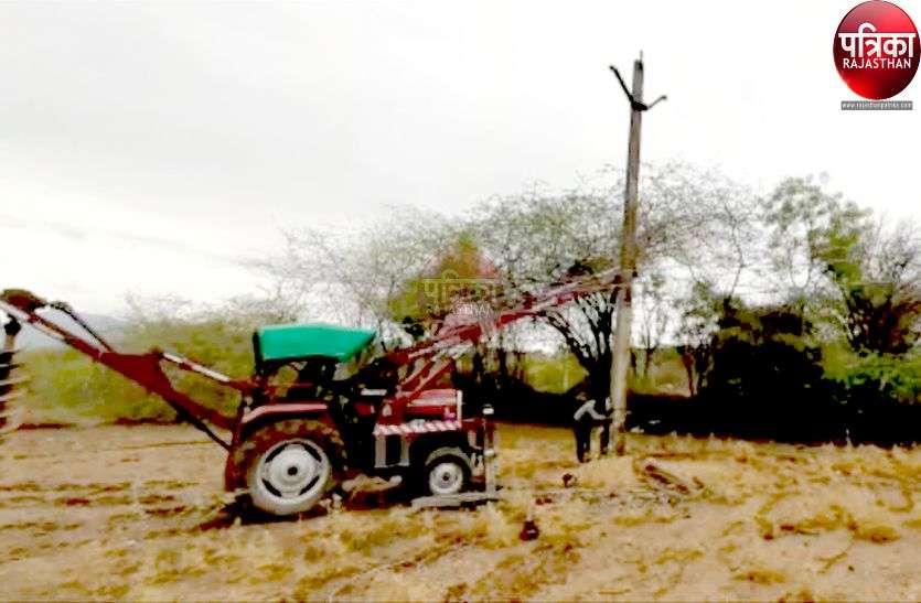 चक्रवाती तूफान से बिजली ढांचे को नुकसान, 65 पोल, दस ट्रांसफार्मर गिरे, 15 किमी बिजली लाइन टूटी