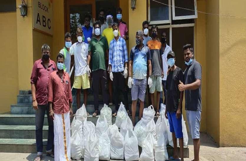 फीड नमा चेन्नई के जरिए जरूरतमंदों की कर रहे मदद