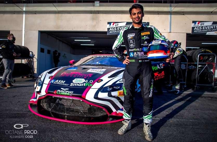 ब्रिटिश कार कंपनी ऑस्टिन के साथ करार की हैट्रिक... एकमात्र एशियाई ड्राइवर बने भारत के अखिल