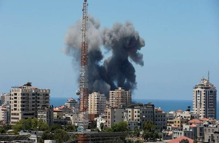 इजराइल और फलस्तीन के बीच संघर्ष जारी, हमास कमांडरों के घरों को बनाया निशाना