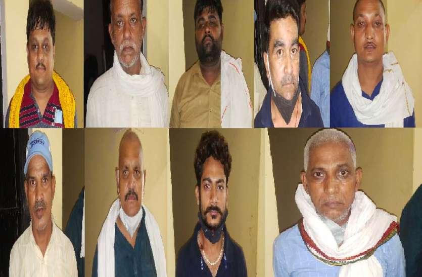 ब्लाक प्रमुख चुनाव जीतने के लिए बीडीसी सदस्यों को दे रहे थे धमकी व प्रलोभन, पुलिस ने 10 को किया गिरफ्तार
