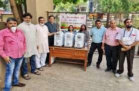जरूरतमंदों की मदद, विप्र फाउंडेशन ने ऑक्सीजन बैंक शुरू किया