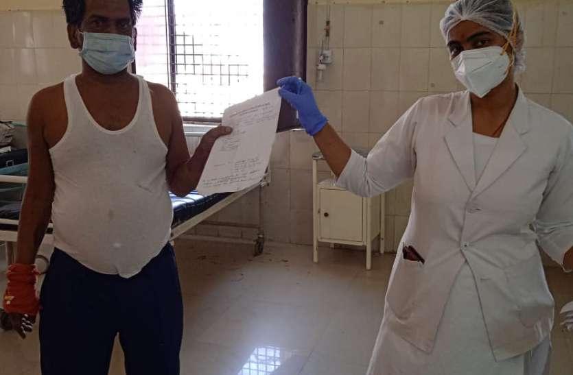 राहत की खबर: लगातार खाली हो रहे कोविड सेंटर व आक्सीजन बेड