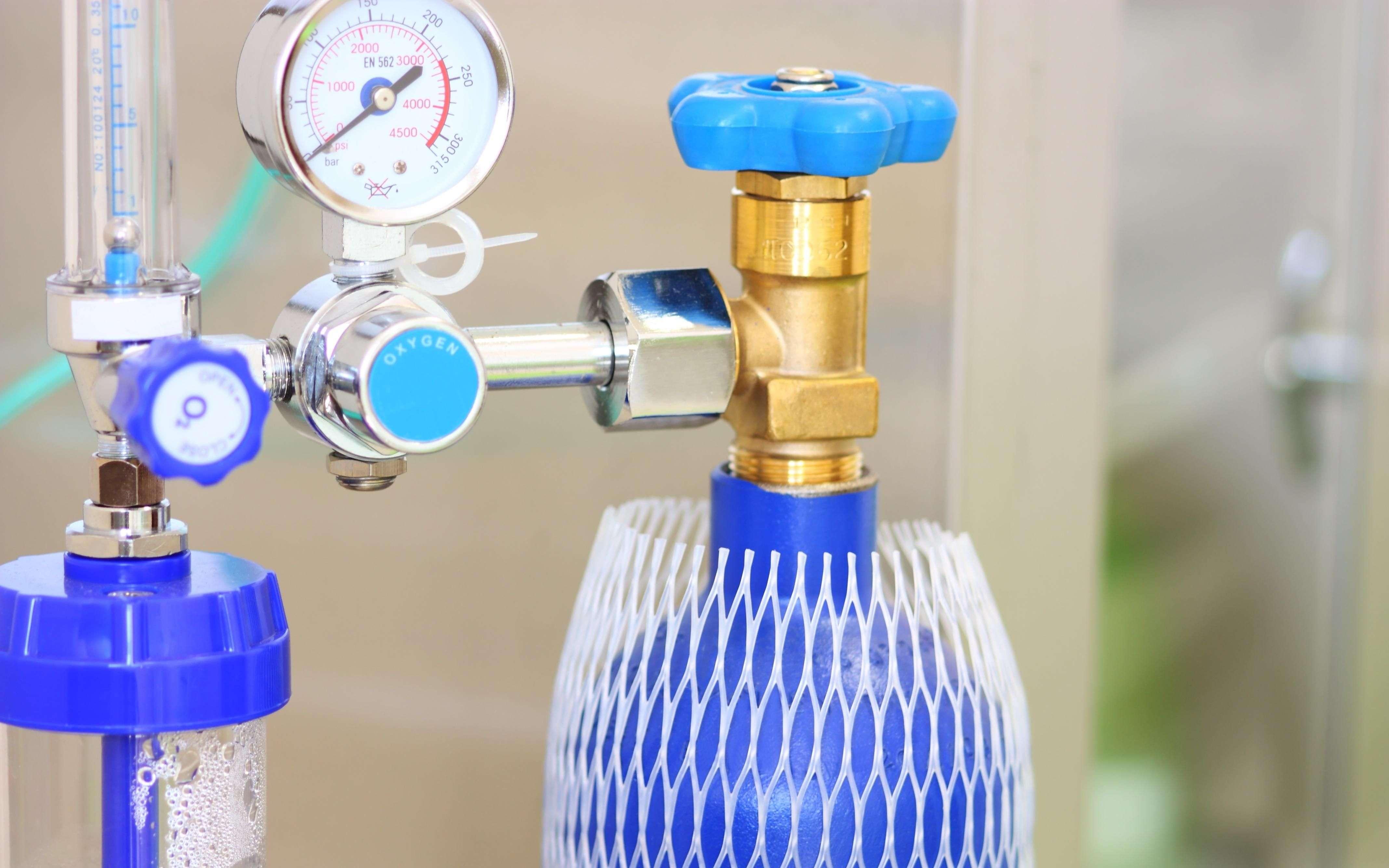 ऐप से सीखें घर पर कैसे करें ऑक्सीजन सिलेंडर इंस्टॉल