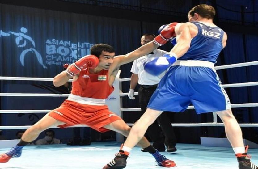 एशियाई मुक्केबाजी: भारत के शिवा थापा ने कुवैत के मुक्केबाज को हरा पांचवां पदक किया पक्का