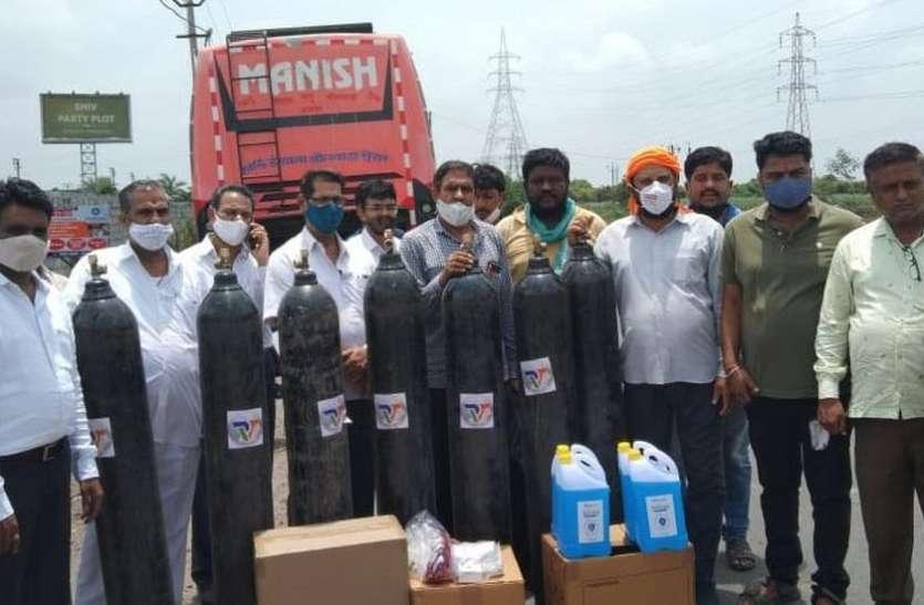 SOCIAL PRIDE NEWS: राजस्थान में भेजी सहायता सामग्री