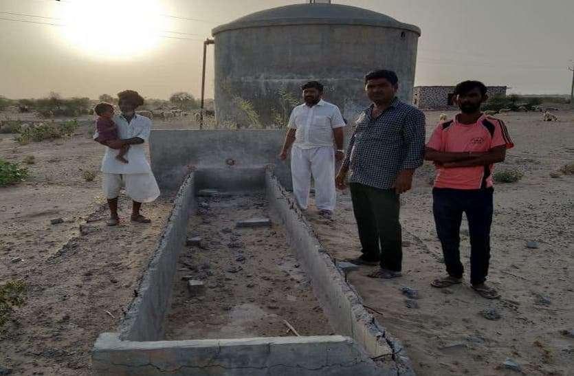 डेढ साल से सूखे जीएलआर, पानी की बूंद-बूंद को तरस रहे ग्रामीण, जानिए पूरी खबर