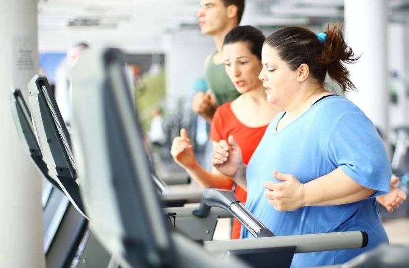 Reduce obesity then exercise :- मोटापा अधिक है तो इस तरह करें एक्सरसाइज की शुरूआत