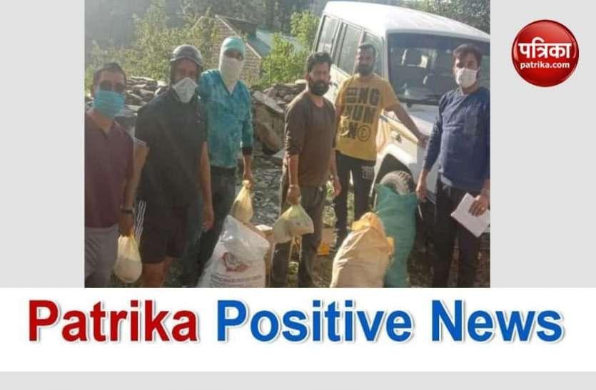 Patrika Positive News: कोरोना संकट में जरूरतमंदों को खाना और रक्त दोनों की पूर्ति कर रहे 'चंबा सेवियर्स'