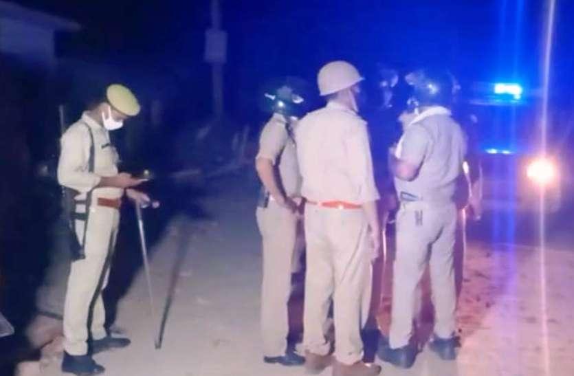 संदिग्धों की तलाश में तीन दिन से दौड़ रही है पुलिस