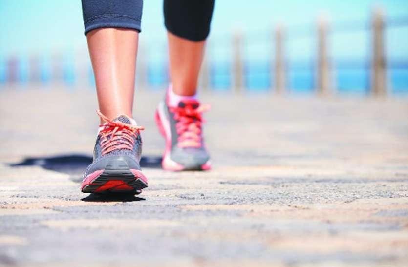 रोजाना चलें 5 हजार कदम, रहेंगे स्वस्थ