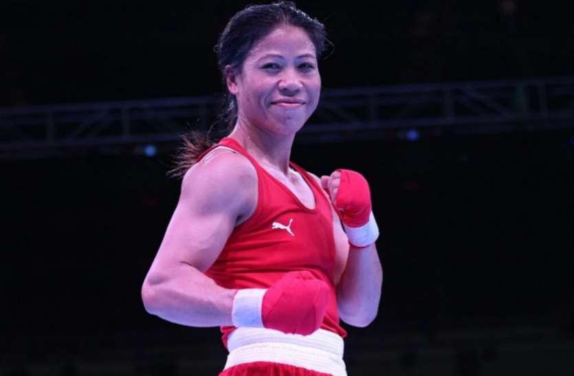 एशियाई मुक्केबाजी : कड़े मुकाबले में हारीं मैरी कॉम, नहीं जीत सकीं छठा स्वर्ण
