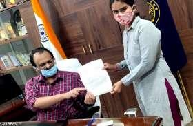 क्रॉस वोटिंग मामले में भाजपा से निष्कासित महिला पार्षद ने दिया पद से इस्तीफा, कहा अपमान बर्दाश्त नहीं