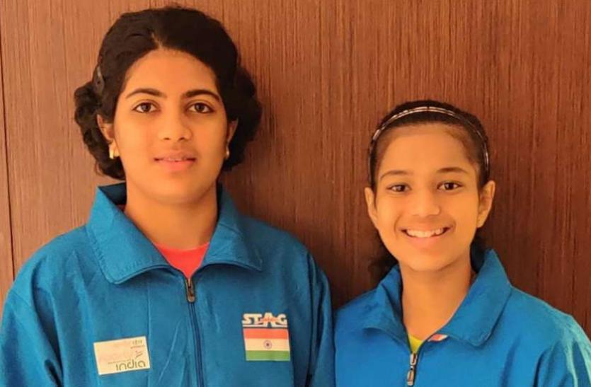 टेबल टेनिस : डब्ल्यूटीटी के फाइनल में भारत की दिव्या-स्वास्तिका की जोड़ी को मिली हार