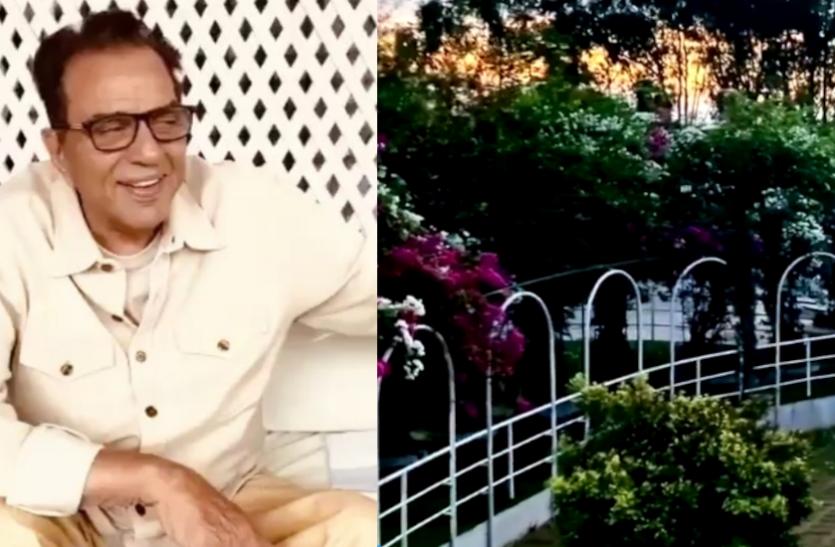 बहुत खूबसूरत है धर्मेन्द्र का फार्महाउस, एक्टर ने वीडियो शेयर कर दिखाया नजारा