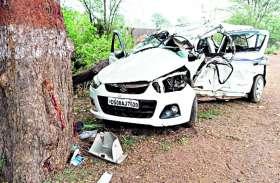 ऐसी गलती आप मत करना, नाबालिग के हाथ में कार की स्टेयरिंग, रास्ते में कार पेड़ से टकराई, दो भाईयों की मौत