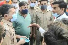 पशु तस्करों को लेकर हिंदू संगठनों में उबाल, एसएसपी को हटाने के लिए जमकर काटा हंगामा