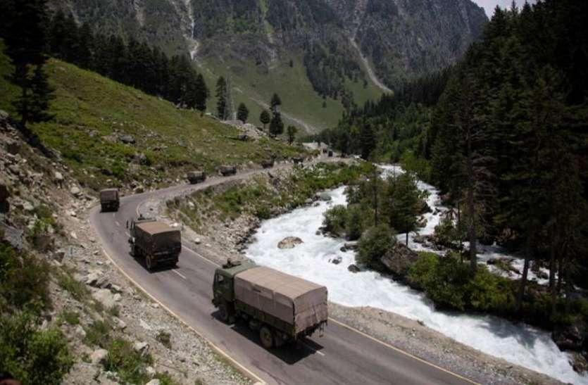 भारत की सीमा पर लद्दाख सेक्टर में तैनात 90 फीसदी सैनिकों को चीन ने बुलाया वापस