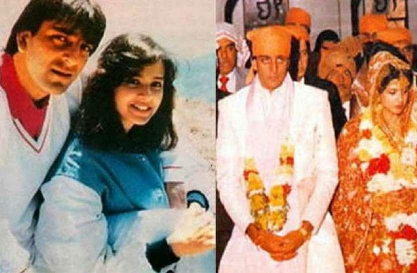 पहली पत्नी संग संजय दत्त की शादी की तस्वीर आई सामने, इस गंभीर बीमारी से हुई थी मौत