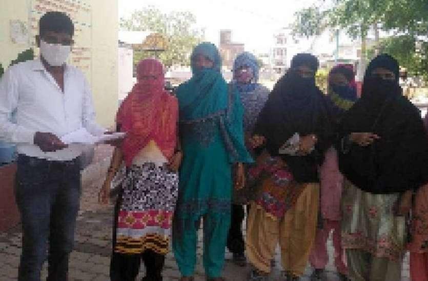 महिलाओं ने नगरपालिका पर प्रदर्शन कर पानी मांगा
