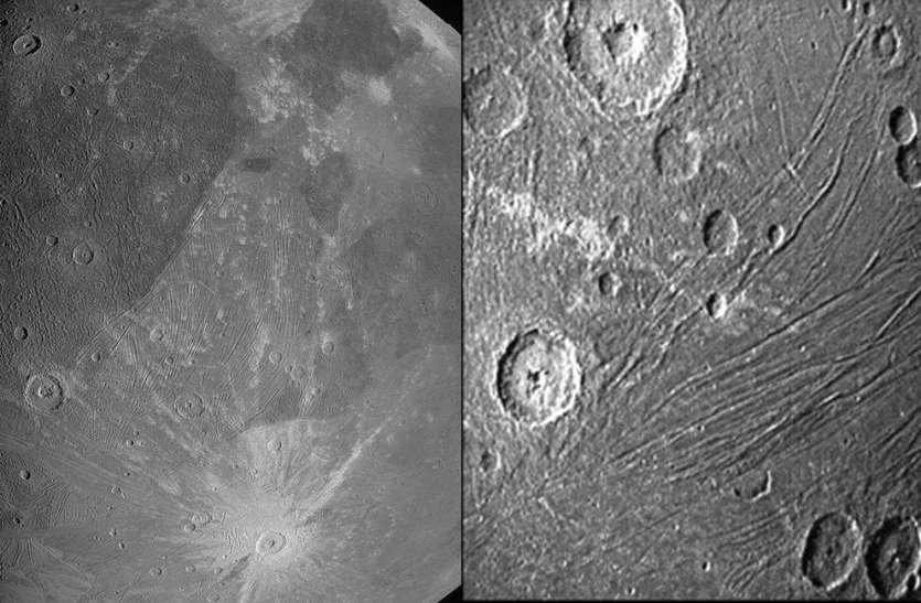 NASA Juno Mission :  जूनो ने बृहस्पति के सबसे बड़े चंद्रमा की पहली तस्वीर भेजी