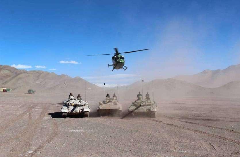 एलएसी पर नए हथियार...गहराए युद्ध के आसार