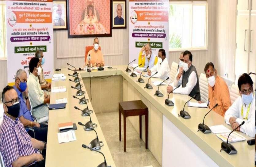 कोविड नियंत्रण को लेकर मुख्यमंत्री योगी की टीम-09 को गाइडलाइन, राशन कार्ड, टीकाकरण और वैक्सीनेशन पर भी दिये निर्देश