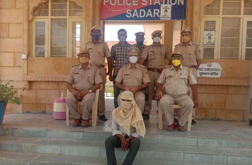 ठगी करवाने वाले गिरोह का मुख्य आरोपी चढ़ा पुलिस के हत्थे