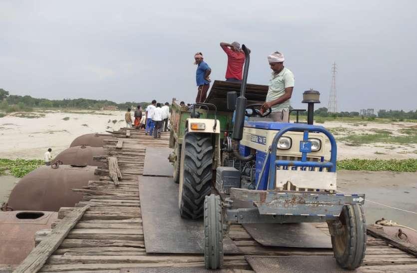 रायबरेली में इस पीपे के पुल के टूटने से जनता को करना होगा इन समस्याओं का सामना
