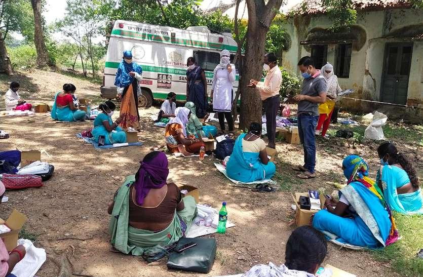 अब 3700 महिलाओं की टीम करेगी सरगुजा को कोरोना मुक्त, ऐसा करने वाला प्रदेश का पहला जिला