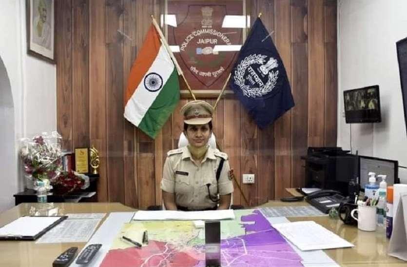 डीसीपी ट्रैफिक ने किया पदभार ग्रहण