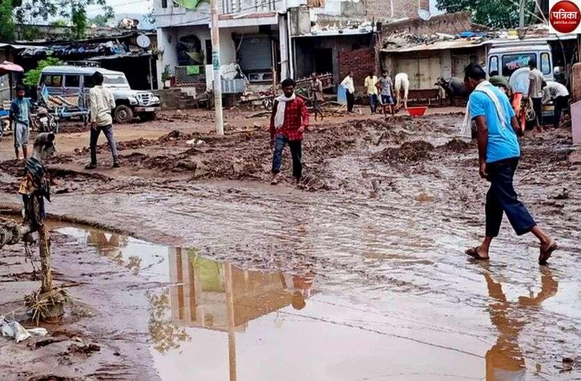 जानिएं कहां... तेज आंधी के साथ हुई बारिश ने मचाई तबाही, कई गांव का तहसील मुख्यालय से कटा संपर्क
