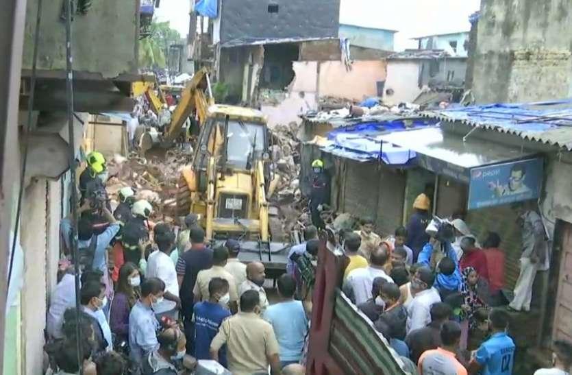 मुंबई में भारी बारिश के चलते चार मंजिला इमारत गिरने से 11 लोगों की मौत, रेस्क्यू ऑपरेशन जारी
