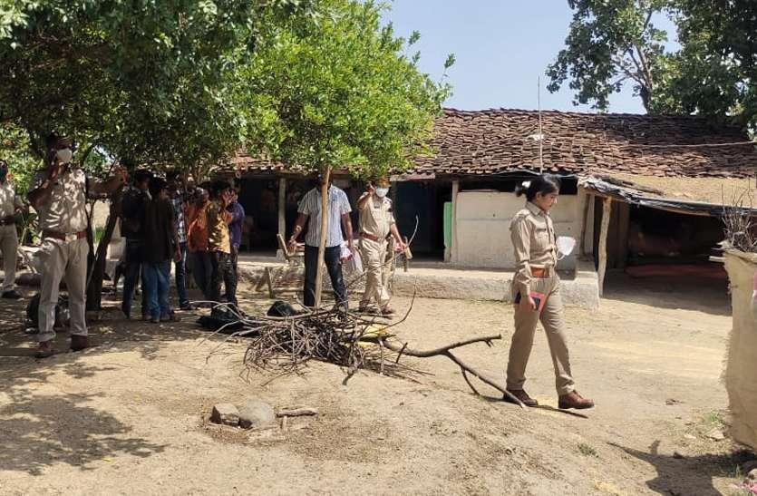 robbery and murder : खेत पर बने मकान में सो रहे परिवार पर हमला, डेढ़ लाख लूटे, बेटे की मौत, माता-पिता घायल