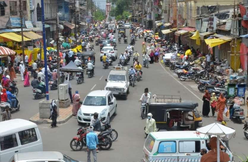 आज से सशर्त बाजार होगा अनलॉक, ग्रामीण और शहरी सप्ताहिक हाट बाजारों पर जारी रहेगा प्रतिबंध