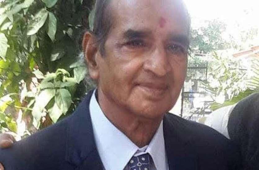 पूर्व सांसद वर्मा नहीं रहे, 1982 में सुंदर सिंह भंडारी को हरा संसद पहुंचे थे
