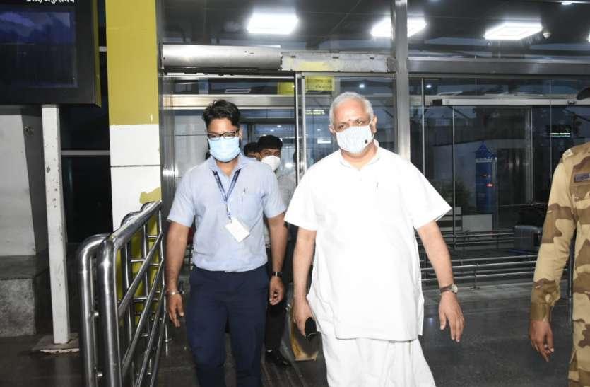 भाजपा के राष्ट्रीय महामंत्री का दौरा