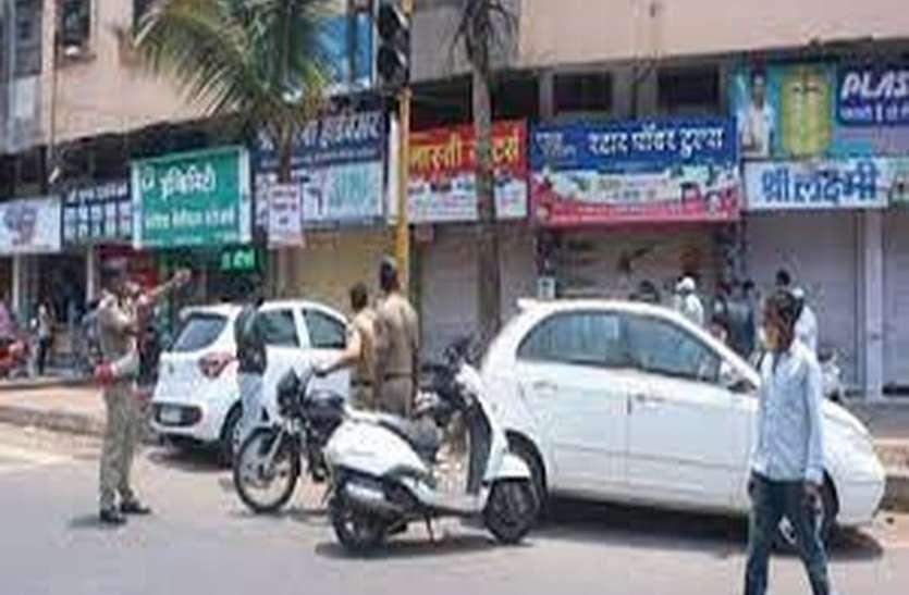 गांधीनगर में किरकोल बिक्री के दुकानदार परेशान