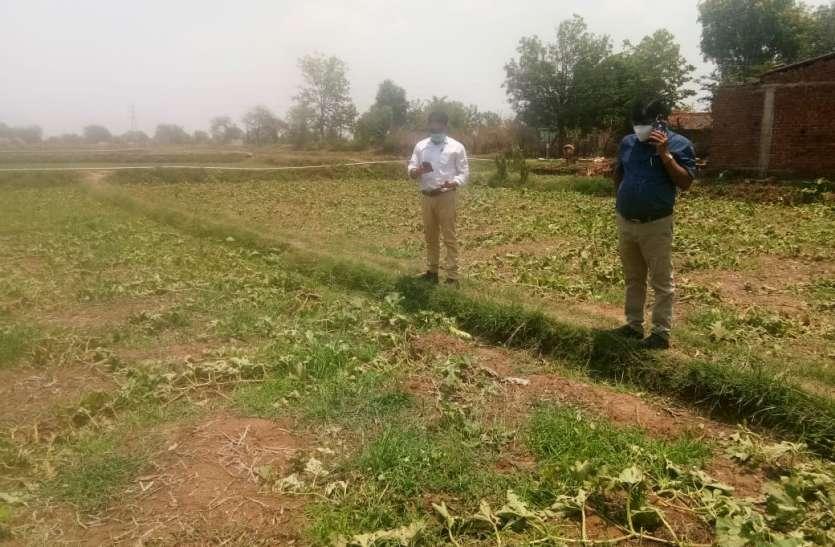 लचर व्यवस्था: खेतों की मेढ़ तक नहीं पहुंचा राजस्व अमला, क्षतिग्रस्त मकानों का नहीं सर्वेक्षण