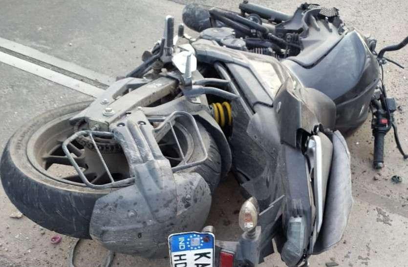 जयपुरः एलीवेटेड रोड पर फिर बड़ा हादसा, अब बाइक सवार युवक-युवती की मौत