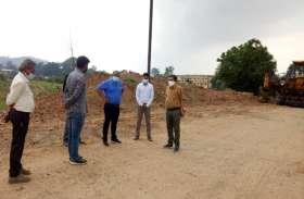 निर्माणाधीन एनएच देखने पहुंचे कलक्टर ने ठेकेदार को चेताया, कहा- ...तो सिक्योरिटी मनी कर देंगे सीज