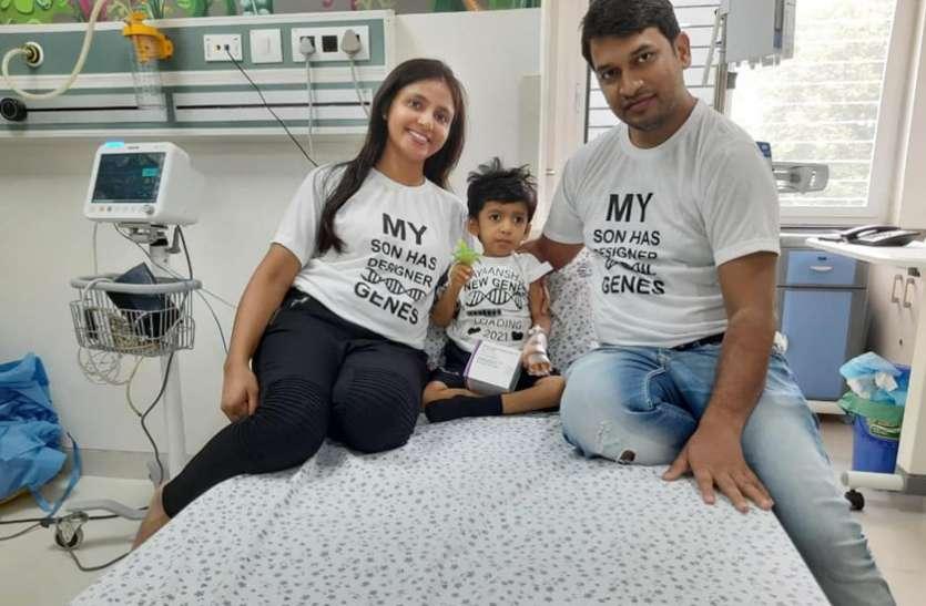 हैदराबाद के कपल्स ने बच्चे के इलाज के लिए क्राउड फंडिंग के जरिए एकत्रित किए करोड़ों रुपए